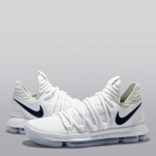 Nike Zoom KD10 Zapatilla de Baloncesto - Blanco/Game Royal-University Gold - Hombre Madrid Online