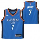 España Oklahoma City Thunder Nike Icon Replica Camiseta de la NBA - Carmelo Anthony #7 - Niño