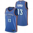 Paul George - Hombre Oklahoma City Thunder Nike Icon Swingman Camiseta de la NBA Precios
