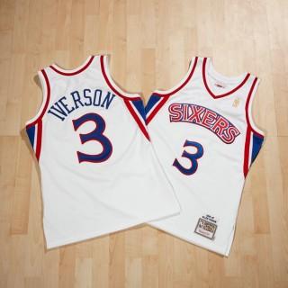 Philadelphia 76ers Allen Iverson 1996-97 Home Authentic Camiseta By Mitchell & Ness Compra online