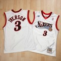 Compra Philadelphia 76ers Allen Iverson All-Star 2001 Home Authentic Camiseta By Mitchell & Ness a Precios Bajos