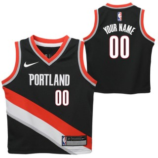 Portland Trail Blazers Nike Icon Replica Camiseta de la NBA - Personalizada - Niño Dinero en menos
