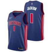 Reggie Jackson - Hombre Detroit Pistons Nike Icon Swingman Camiseta de la NBA Rebajas