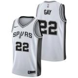 Rebajas en Rudy Gay - Hombre San Antonio Spurs Nike Association Swingman Camiseta de la NBA Madrid