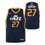Moda Rudy Gobert - Adolescentes Utah Jazz Nike Icon Swingman Camiseta de la NBA