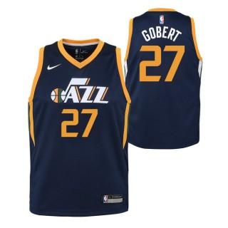 Moda Rudy Gobert - Adolescentes Utah Jazz Nike Icon Swingman Camiseta de la NBA