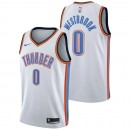 Russell Westbrook - Hombre Oklahoma City Thunder Nike Association Swingman Camiseta de la NBA Baratos