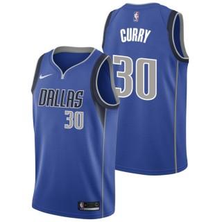 Seth Curry - Hombre Dallas Mavericks Nike Icon Swingman Camiseta de la NBA Madrid Online
