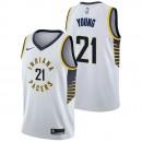 Nuevo Thaddeus Young - Hombre Indiana Pacers Nike Association Swingman Camiseta de la NBA