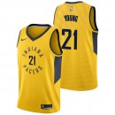 Original Thaddeus Young - Hombre Indiana Pacers Nike Statement Swingman Camiseta de la NBA