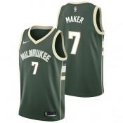 Thon Maker - Hombre Milwaukee Bucks Nike Icon Swingman Camiseta de la NBA Venta