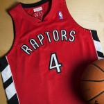 Toronto Raptors Chris Bosh 2003-04 Road Rookie Authentic Camiseta By Mitchell & Ness Venta Al Por Mayor