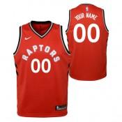 Toronto Raptors Nike Icon Swingman Camiseta de la NBA - Personalizada - Adolescentes Descuento