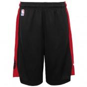 Toronto Raptors Nike Practise Pantalones cortos - Negro/University Rojo - Adolescentes Baratas Online