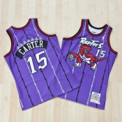 Toronto Raptors Vince Carter 1998-99 Road Authentic Camiseta By Mitchell & Ness Precio Promocional