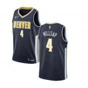 Uomo Denver Nuggets Paul Millsap #4 Armada Swingman Camiseta Sitio Oficial España
