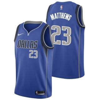 Wesley Matthews - Hombre Dallas Mavericks Nike Icon Swingman Camiseta de la NBA En Madrid