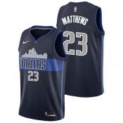 Wesley Matthews - Hombre Dallas Mavericks Nike Statement Swingman Camiseta de la NBA Venta Barata