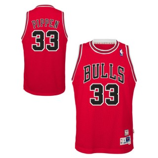 Youth Chicago Bulls Scottie Pippen Hardwood Classics Road Swingman Camiseta Precio De Descuento