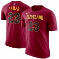 Youth Cleveland Cavaliers LeBron James #23 GranateT-Shirt Ofertas