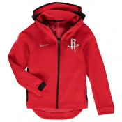 Comprar Youth Houston Rockets Rojo Showtime Full-Zip Performance Chaqueta Online