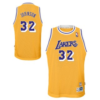 Youth Los Angeles Lakers Magic Johnson Hardwood Classics Home Swingman Camiseta al Mejor Precio