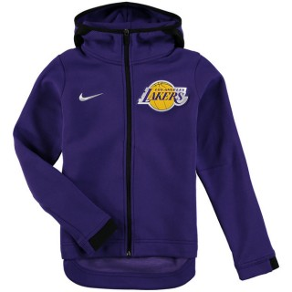 Youth Los Angeles Lakers Púrpura Showtime Full-Zip Performance Chaqueta Ventas Baratas Barcelona