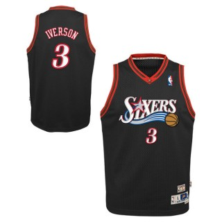 Youth Philadelphia 76ers Allen Iverson Hardwood Classics Road Swingman Camiseta España Precio
