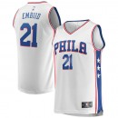 Youth Philadelphia 76ers Joel Embiid #21 Fanatics Branded Blanco Fast Break Camiseta Sitio Oficial España