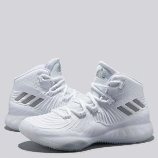 adidas Crazy Explosive 2017 Zapatilla de Baloncesto - Core Blanco - Youth Precio