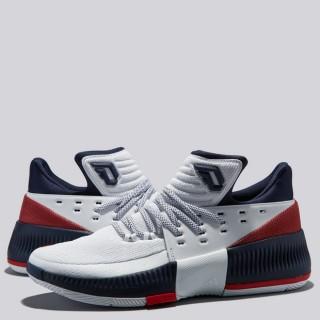 adidas Lillard 3 Zapatilla de Baloncesto - Blanco/Navy - Hombre Venta a Precios Más Bajos