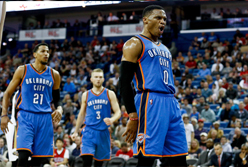 Camiseta Oklahoma City Thunder 2017