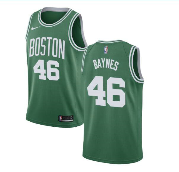 Aron Baynes #46 Boston Celtics Verde Swingman Camiseta