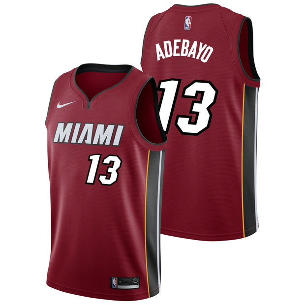Bam Adebayo - Hombre Miami Heat Nike Statement Swingman Camiseta de la NBA