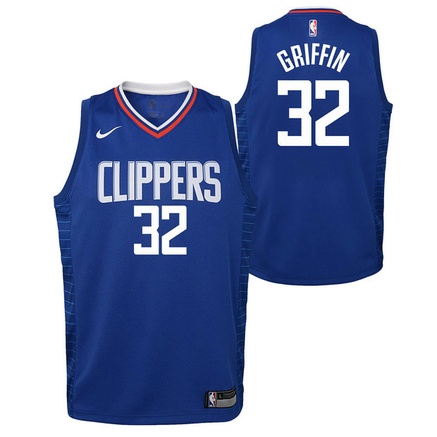 Blake Griffin #32 - Adolescentes Los Angeles Clippers Nike Icon Swingman Camiseta de la NBA