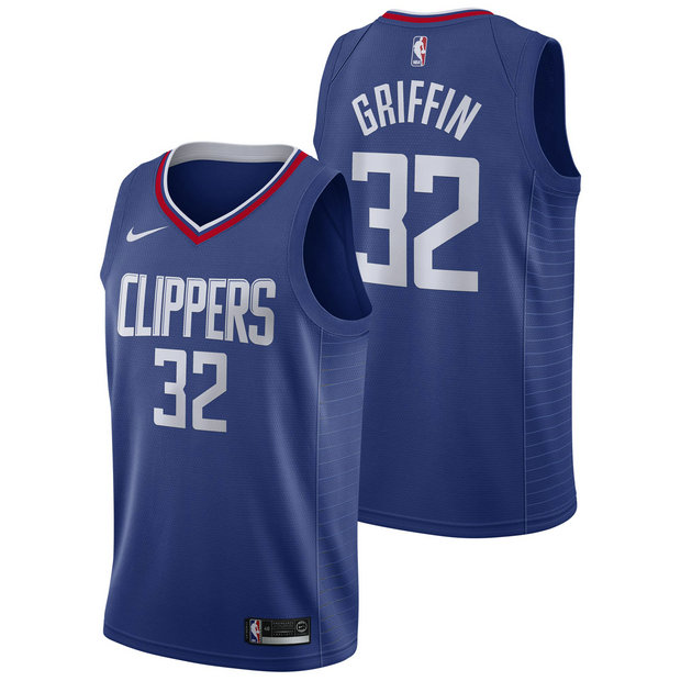 Blake Griffin #32 - Hombre Los Angeles Clippers Nike Icon Swingman Camiseta de la NBA