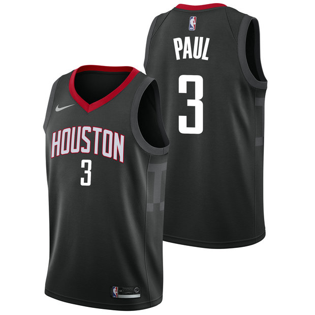 Chris Paul #3 - Hombre Houston Rockets Nike Statement Swingman Camiseta de la NBA