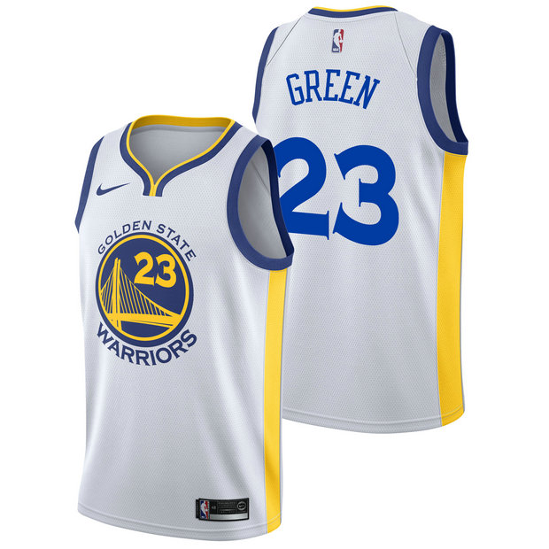 Draymond Green #23 - Hombre Golden State Warriors Nike Association Swingman Camiseta de la NBA