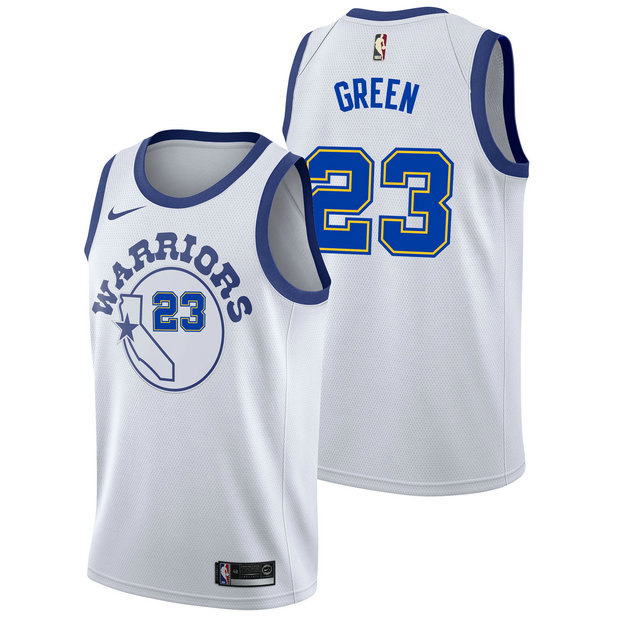 Draymond Green #23 - Hombre Golden State Warriors Nike Classic Edition Swingman Camiseta
