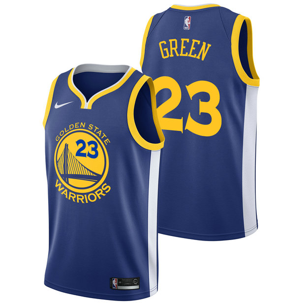 Draymond Green #23 - Hombre Golden State Warriors Nike Icon Swingman Camiseta de la NBA