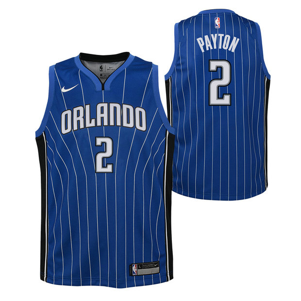 Elfrid Payton - Adolescentes Orlando Magic Nike Icon Swingman Camiseta de la NBA