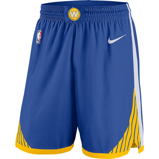 Golden State Warriors Nike Icon Swingman Pantalones cortos - Adolescentes