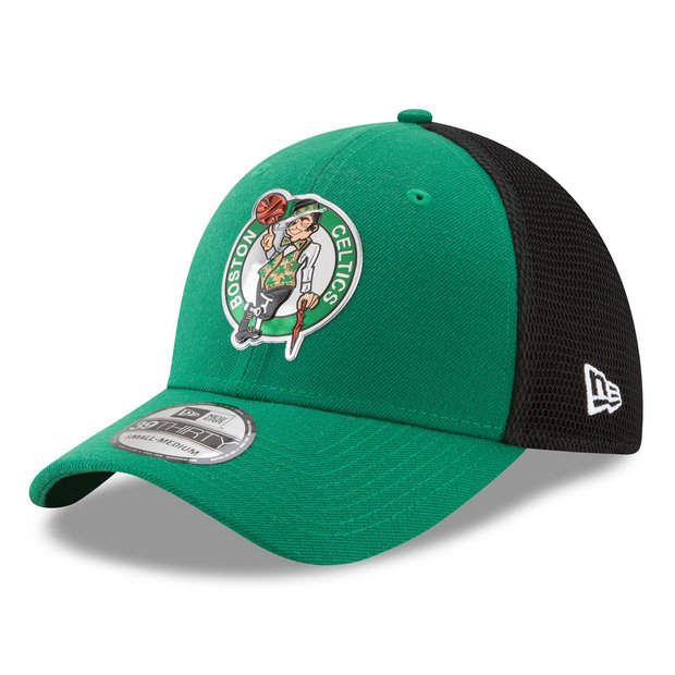 Gorra Boston Celtics New Era 2017 Official On-Court 39THIRTY Stretch Fit Cap