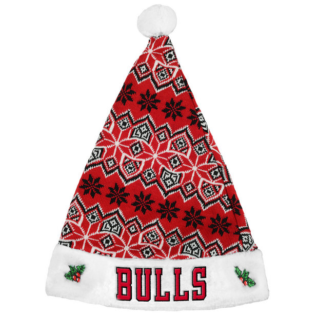 Gorra Chicago Bulls Knit Santa Sombrero Dinero en menos 4bfcde028fa24