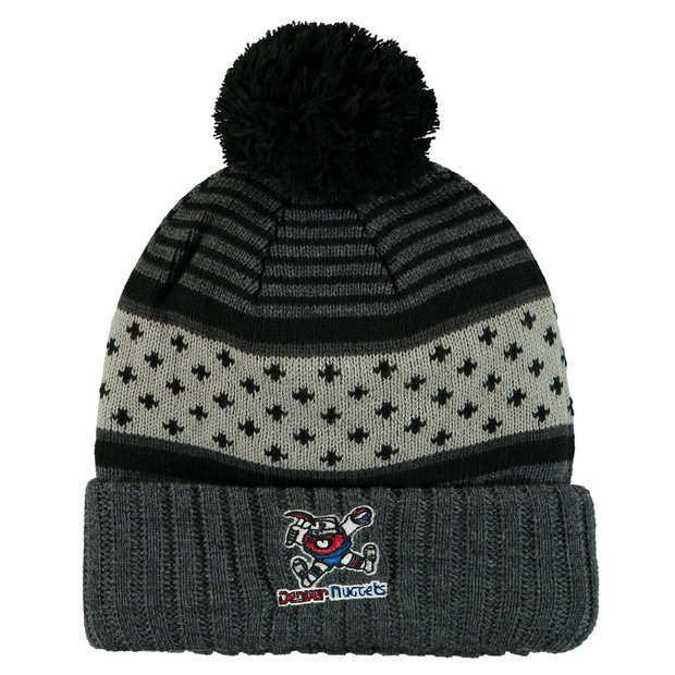 Gorra Denver Nuggets Hardwood Classics Pom Knit