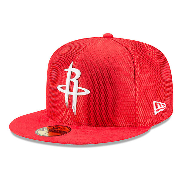Gorra Houston Rockets New Era 2017 Official On-Court 59FIFTY Fitted Cap