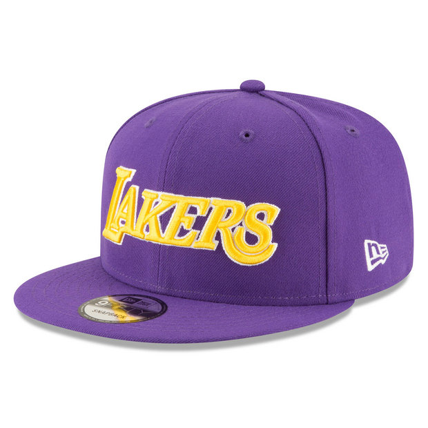 Gorra Los Angeles Lakers New Era 9FIFTY On-Court Statement Edition Snapback Cap