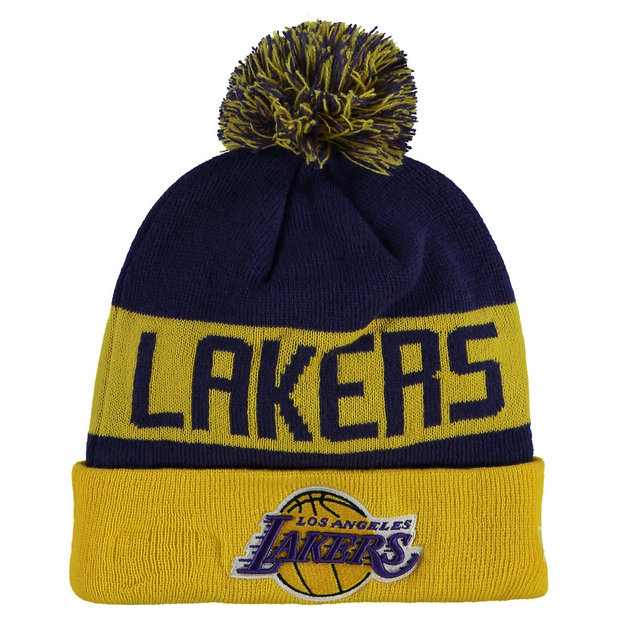 Gorra Los Angeles Lakers New Era Team Colour Knit