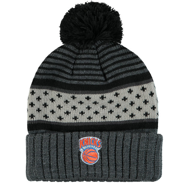 Gorra New York Knicks Hardwood Classics Pom Knit