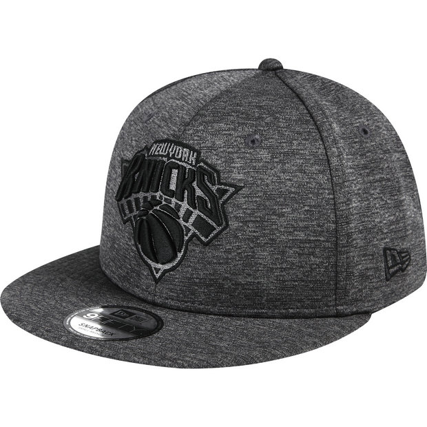 Gorra New York Knicks New Era Graphite Team Logo 9FIFTY Snapback Cap